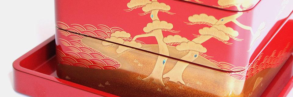 大雅堂の輪島塗重箱